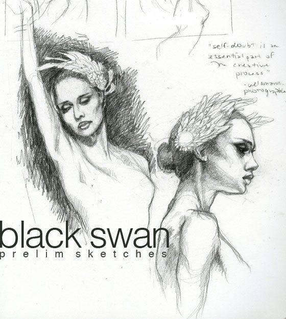 Black Swan sketches