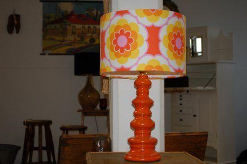 Original 1960's orange vintage lamp... | Orange Skies! | Pinterest ...