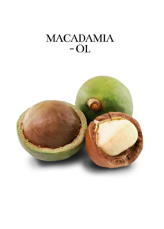 Macadamia-Öl ist reich an Palmitolein, Vitamin A, B, E und Mineralstoffen und ist v.a. für trockene, schuppige & empfindliche Haut geeignet http://www.rau-cosmetics.de/wirkstoff-info/macadamia-oel/