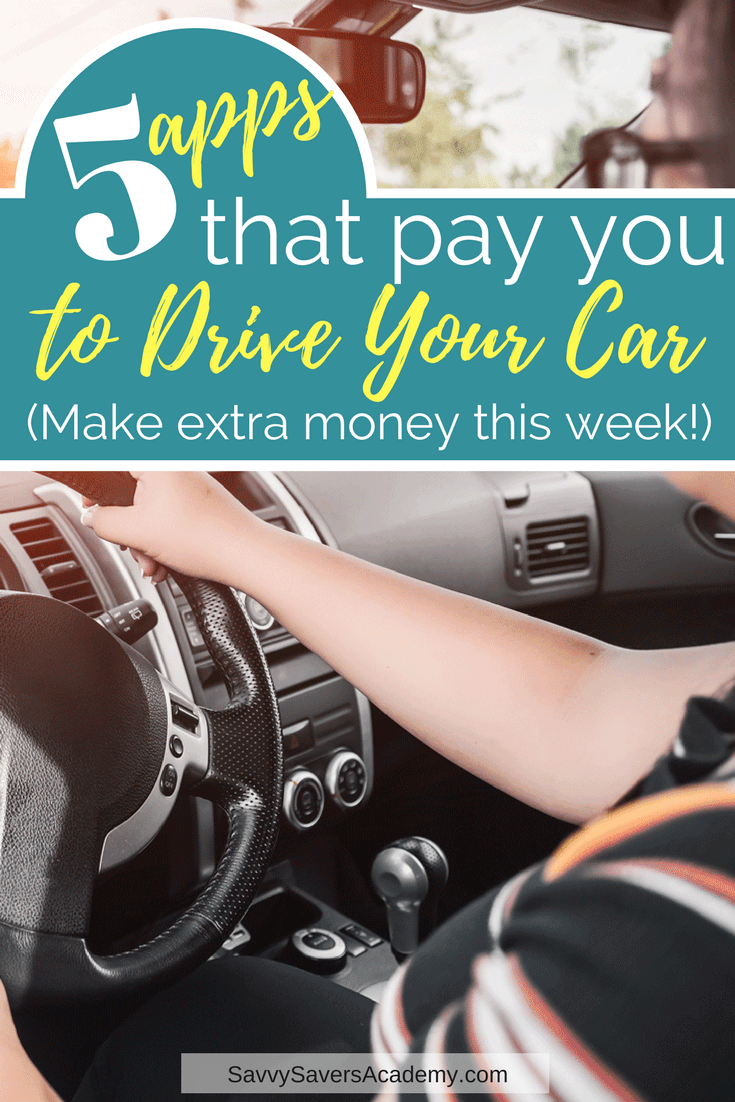 5 Unique Ways to Get Paid to Drive Your Car Apps that