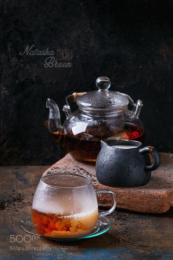 Black Tea with Milk by NatashaBreen