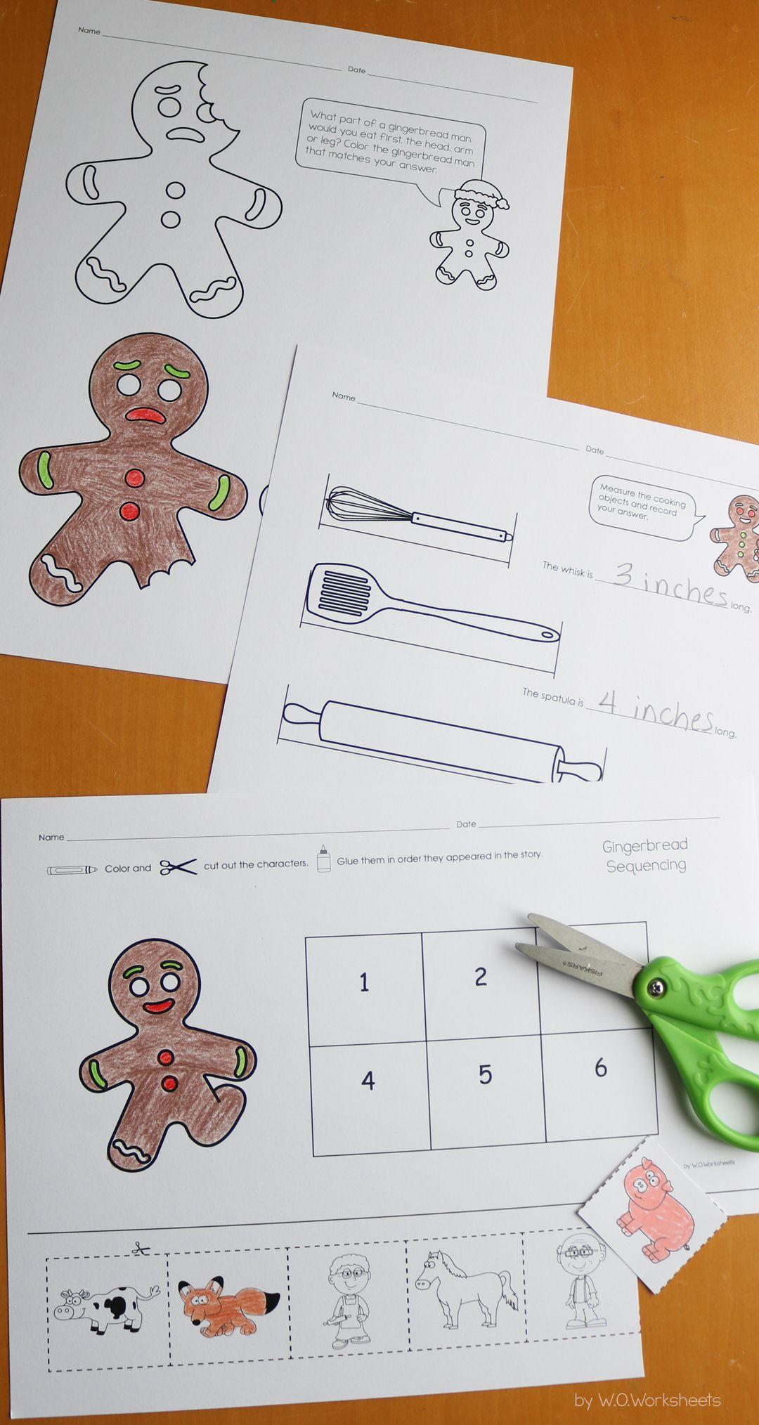 Gingerbread Man Activities Gingerbread Man Activities Elementary Classroom Christmas Graphing Activities [ 2028 x 1080 Pixel ]