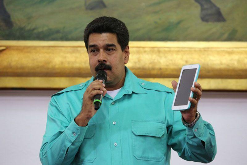 """¡EL CONSEJERO, PUES! La razón por la que Maduro recomienda usar """"con cuidado"""" los celulares y las tablets - http://wp.me/p7GFvM-DdI"""