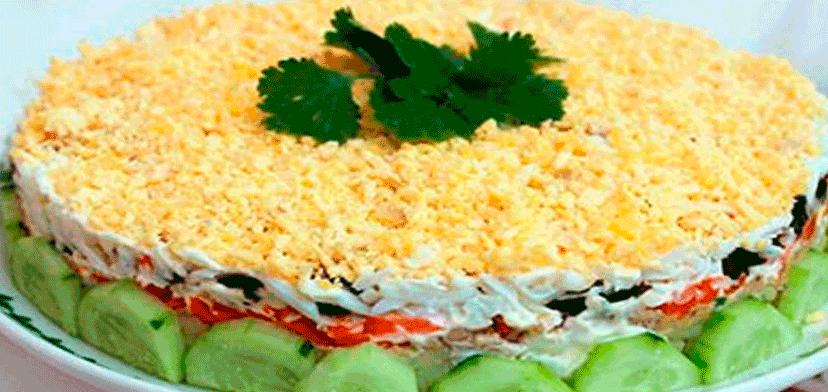 салат бонапарт пошаговый рецепт с фото