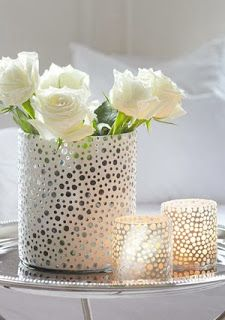Scandinavian decor - Livorno tea light holders by Perfect Home
