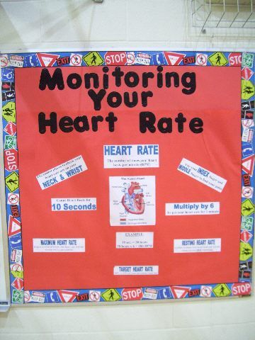 Health education posters bulletin boards