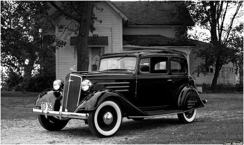 1934 Chevy Town Sedan