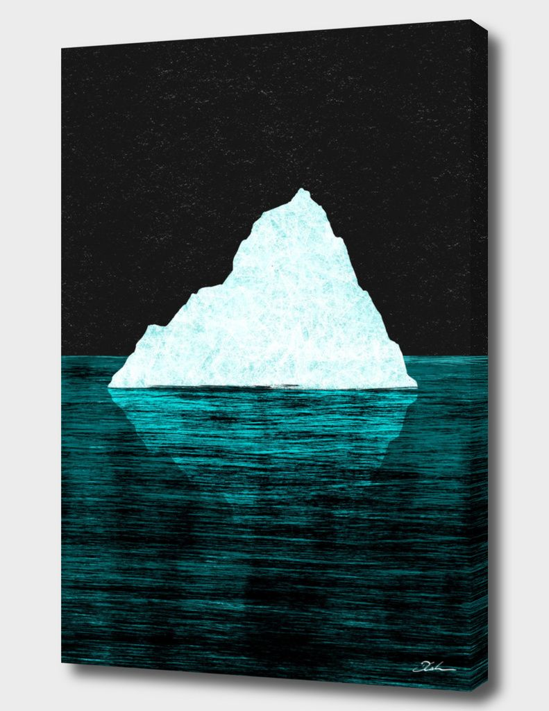 """ICEBERG AHEAD!"", Numbered Edition Canvas Print by Daniel Coulmann - From $69.00 - Curioos"