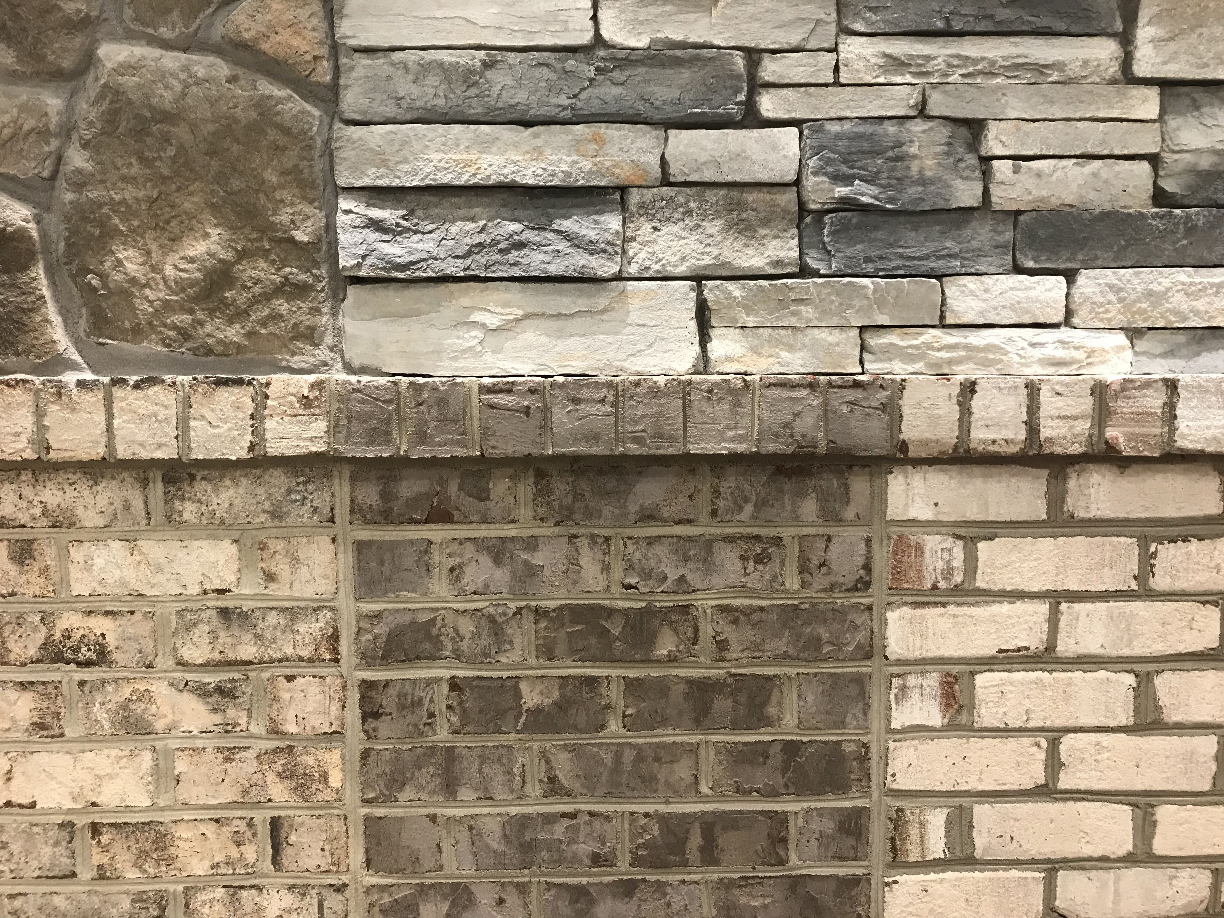 Get Help Matching Stone Brick And Mortar At A Builder S Or Supplier S Showroom Custom Homes Brick Front Entrances