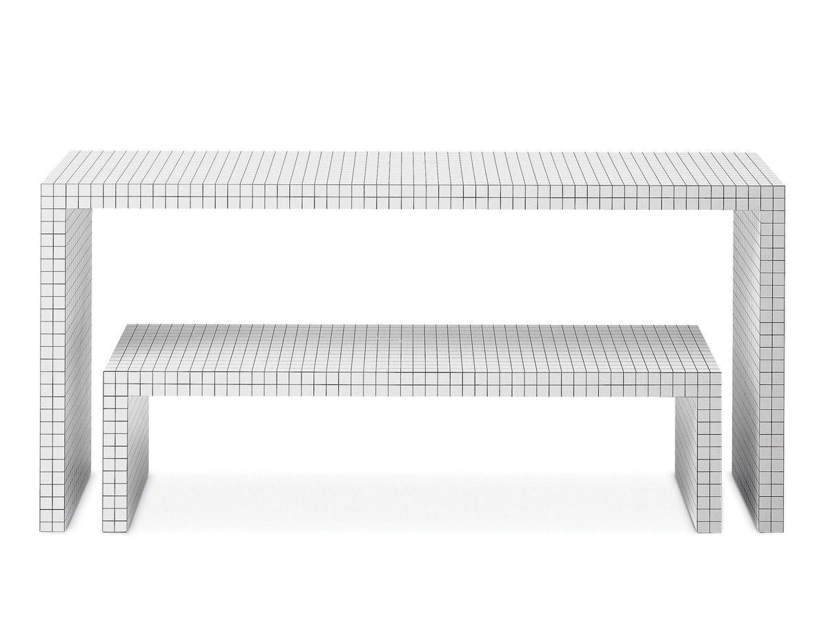 Zanotta 710 Quaderna Bench Bench And Interiors # Muebles New Style Villa Tesei