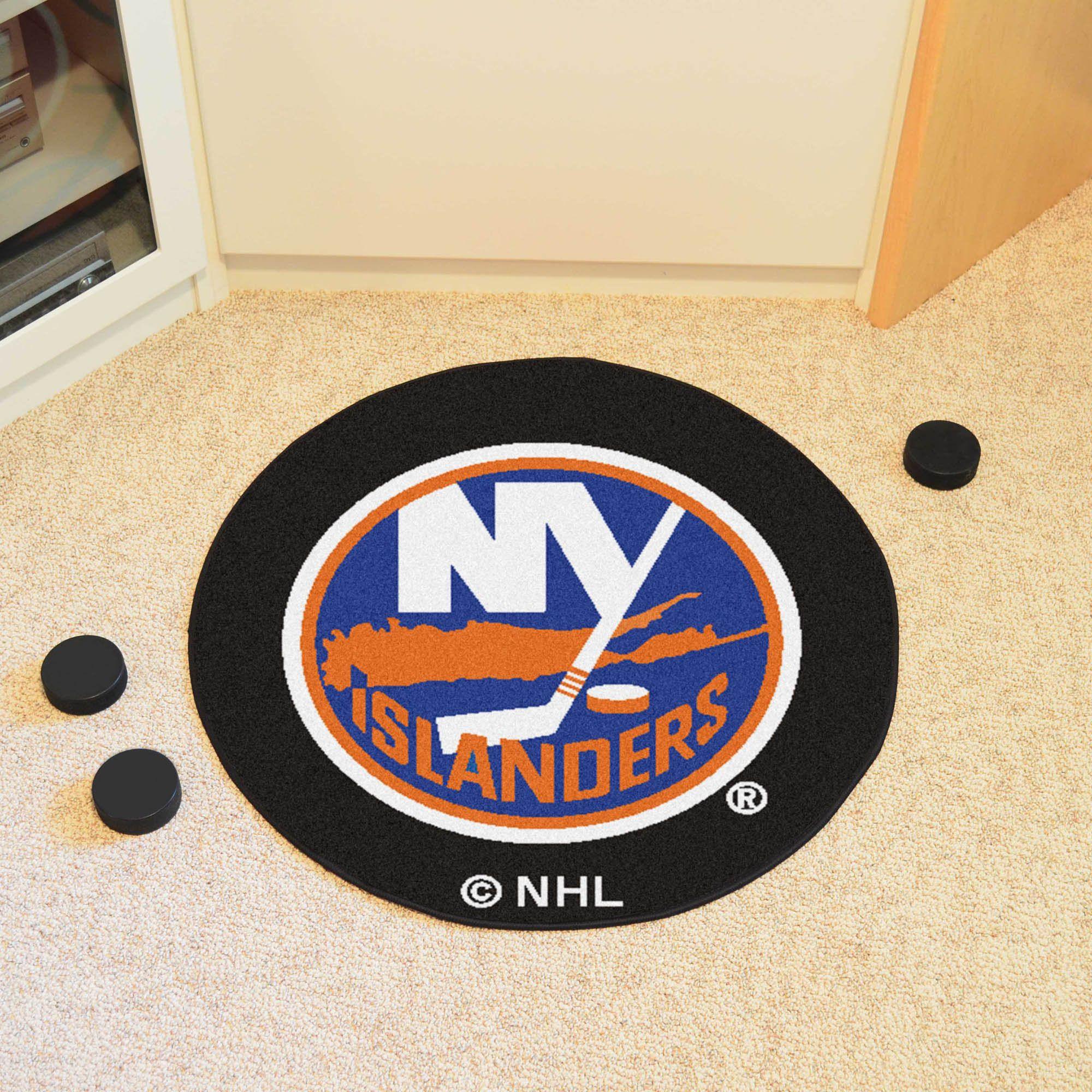 New York Islanders Puck Mat New york islanders, Nhl news