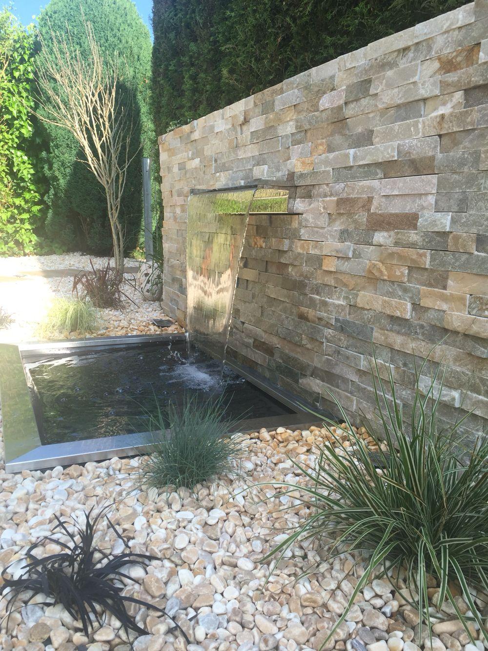Wasserfall Im Garten Modern | Bachlauf Modern
