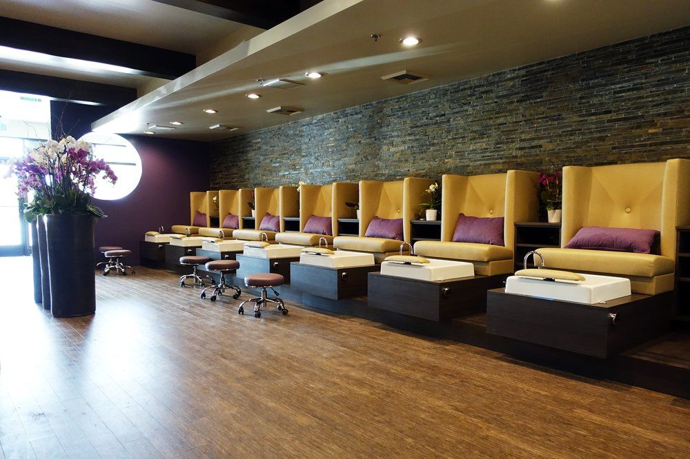 Stella pedicure chairs installed in Gloss.y Nail Salon! | Pedicure ...