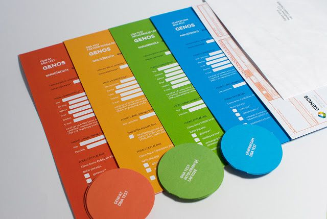 Genos Dna Testing Sets on Packaging of the World - Creative Package Design Gallery