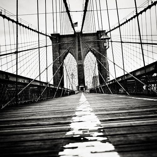 The Brooklyn Bridge by Josef Hoflehner.