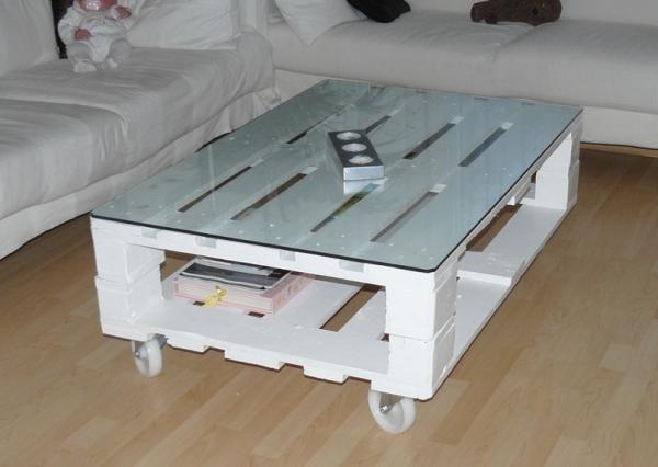 Cómo hacer muebles con palets reciclados. El reciclaje está más ...