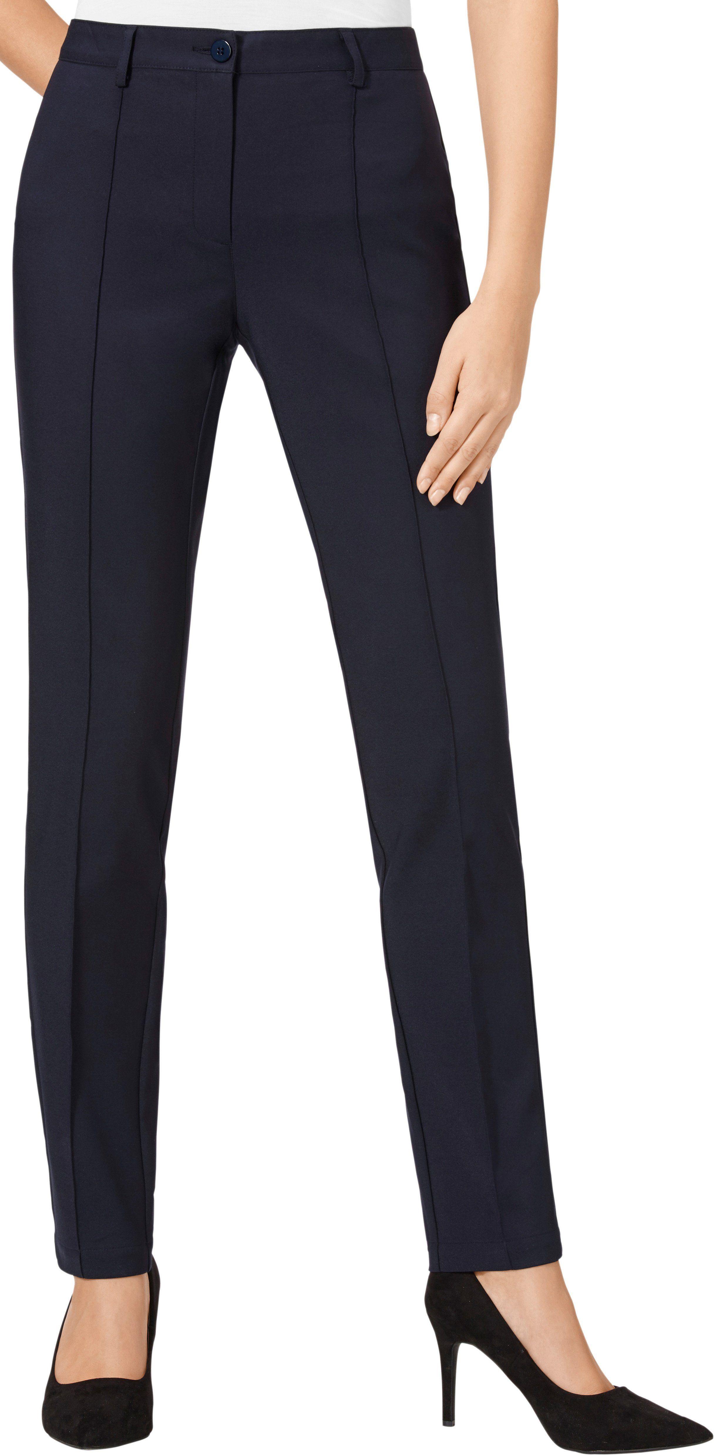 Damen Classic Basics Hose Mit Abgesteppten Biesen Blau Rot Weiss 08935267234474 Mode Ootd Outfit Fashion S Fashion Fashion Outfits Outfits