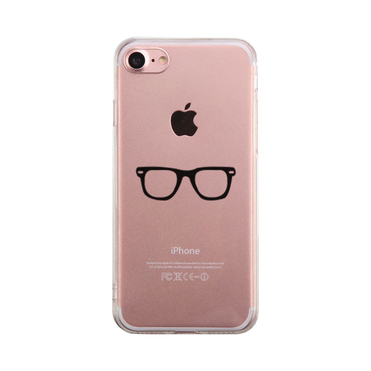 on sale babd7 aec04 Nerdy Eyeglasses Phone Case Cute Clear Phonecase in 2019 | Specs ...