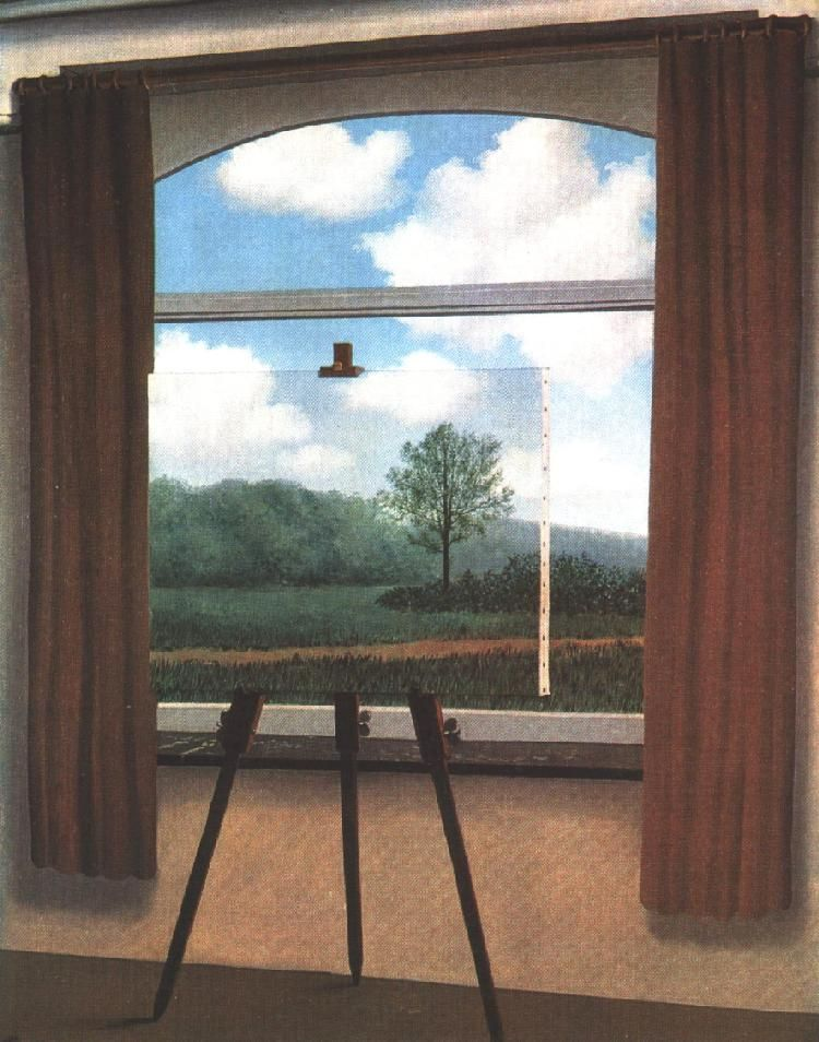 Human Condition, René Magritte, National Gallery of Art, Washington