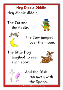 Nursery Rhymes Lyrics