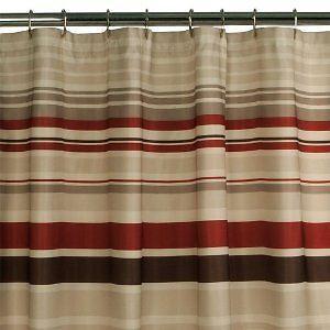 tan shower curtain