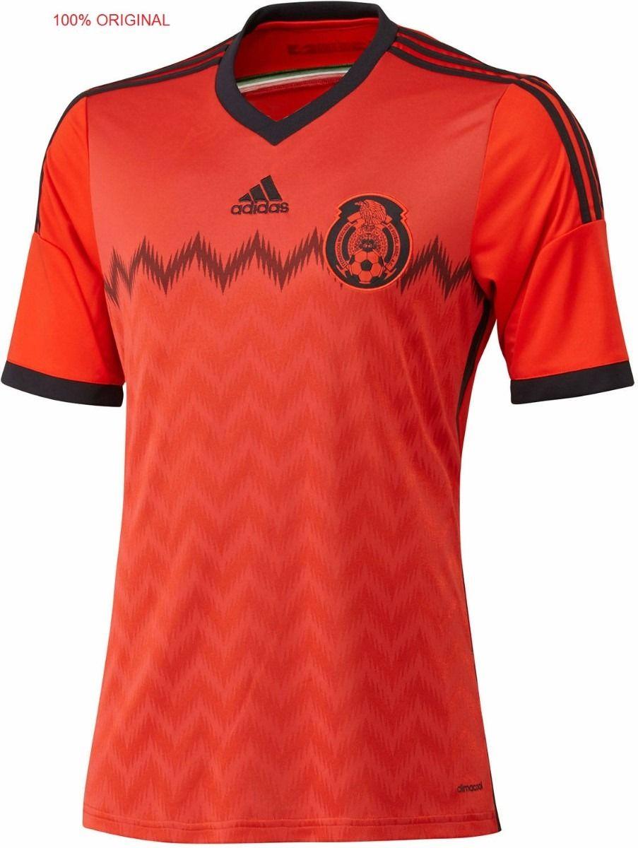 5c87a3e9009d2 Playera Jersey Mexico Mundial 2014 Adidas Original Vbf -   949.00 en  MercadoLibre