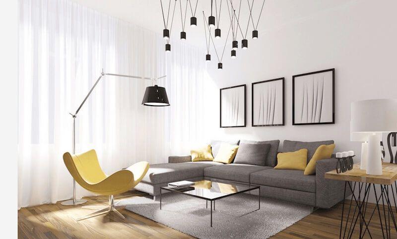 C mo decorar un sal n moderno salon muebles salon for Como decorar un salon moderno
