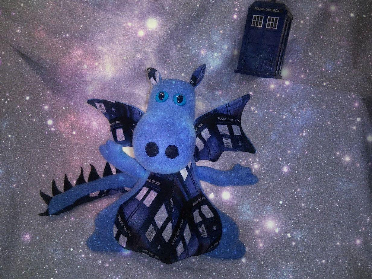 Dr. Who Tardis Police Box Dragon
