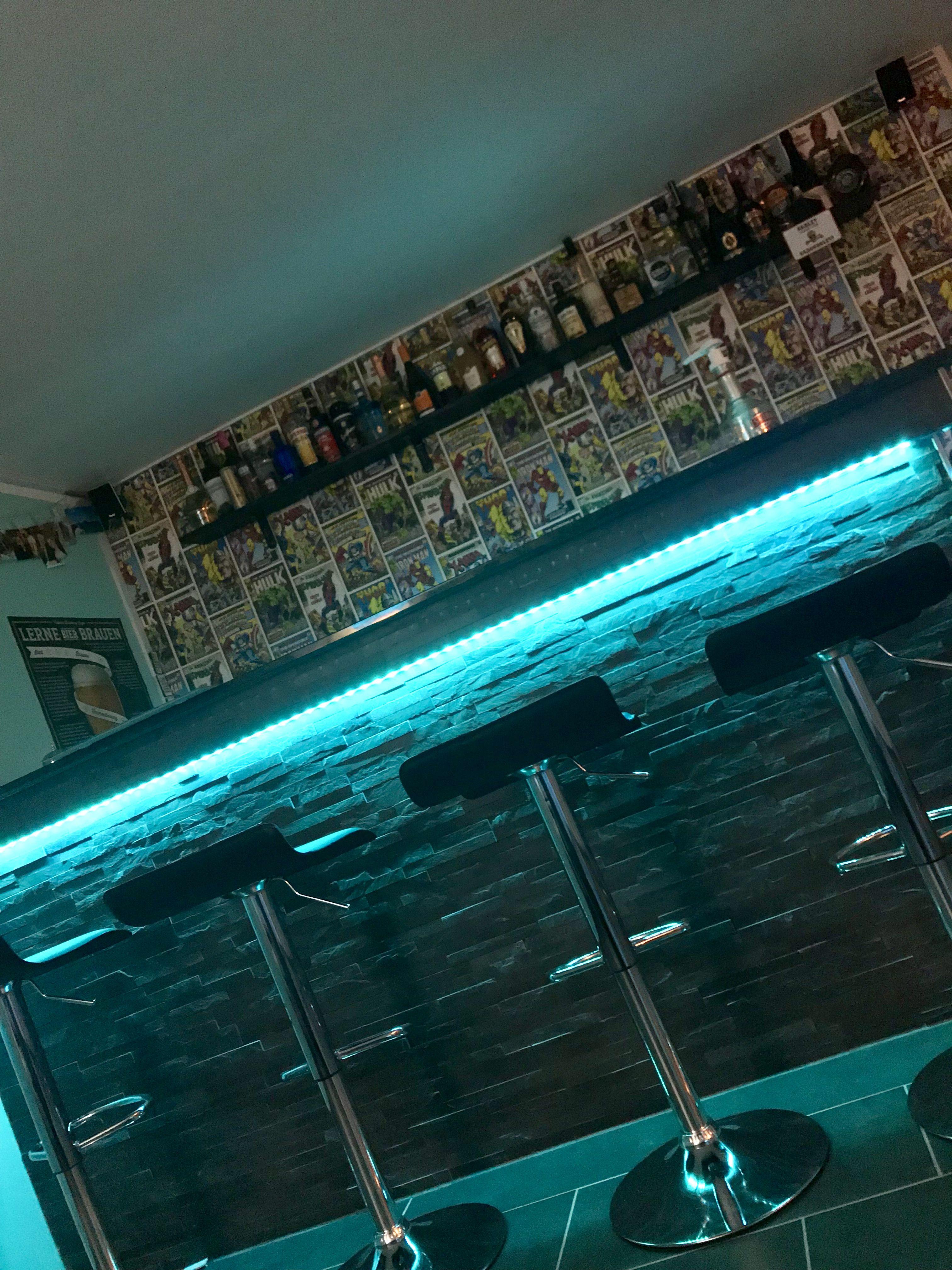 Partykeller Theke Bar Eigenbau Partykeller Bar Einrichtung Garagen Makeover