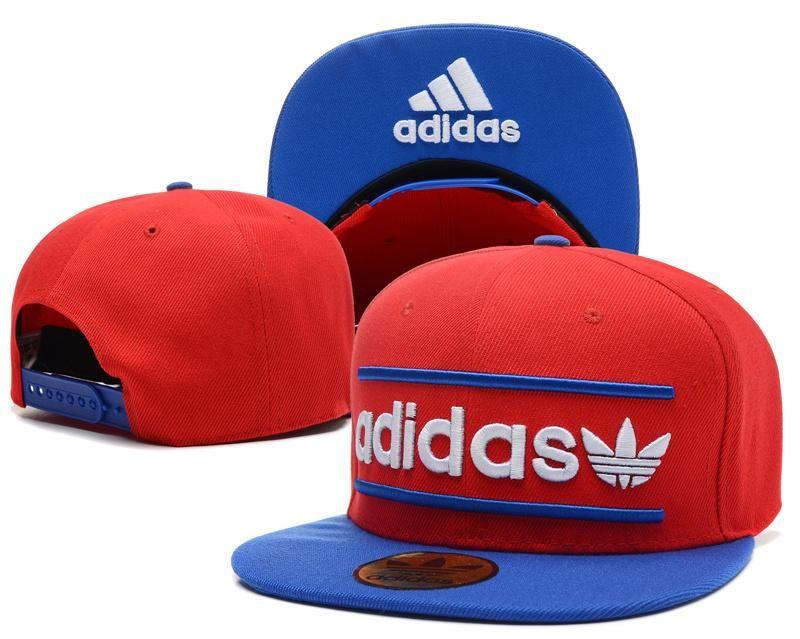 f85430e9afe82 Mens Adidas Originals Heritage USA Top Seller Best Quality Fashion Snapback  Cap - Red   Blue   Blue