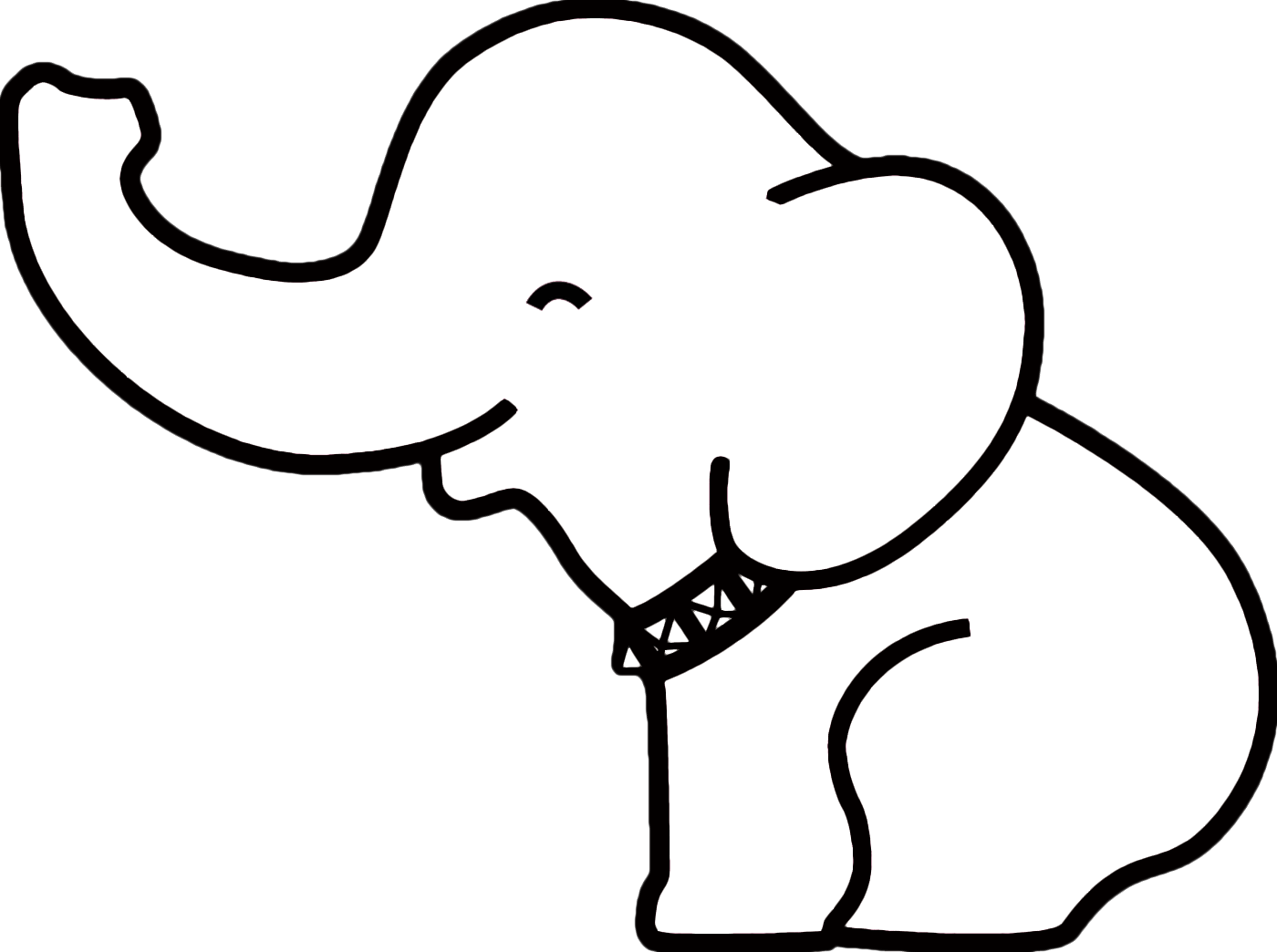 top 25 best elephant outline ideas on pinterest elephant