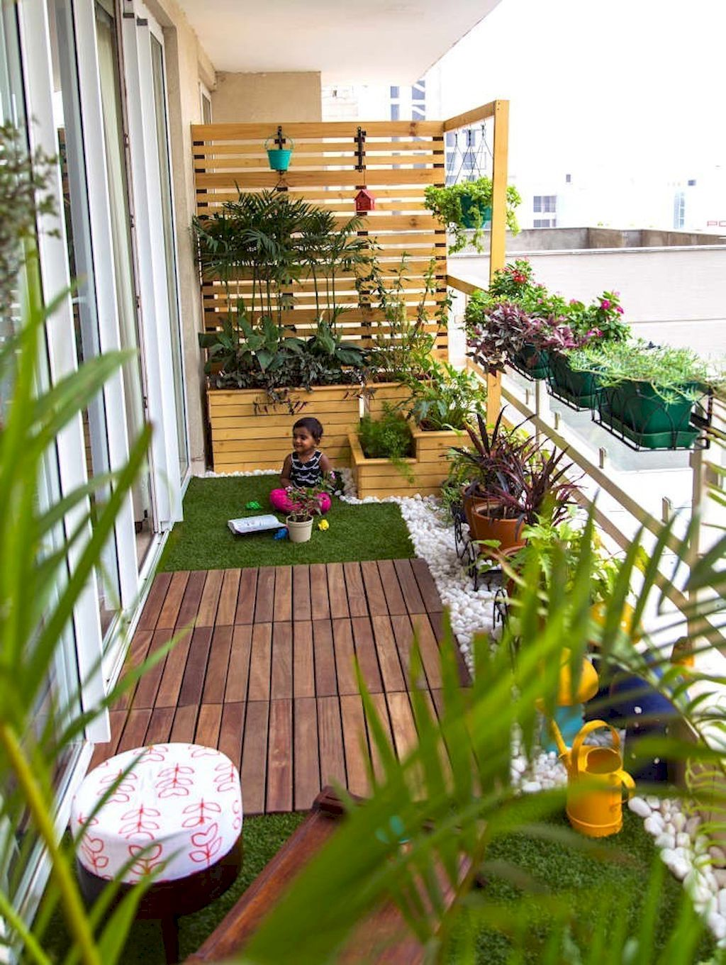 Pin by Lizz Wilmarth on Architecture | Balcony, Apartment balcony decorating,  Balcony Garden - Pin By Lizz Wilmarth On Architecture Balcony, Apartment Balcony