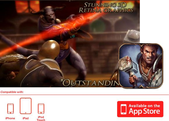 Rage of the Gladiator - iPad/iPhone