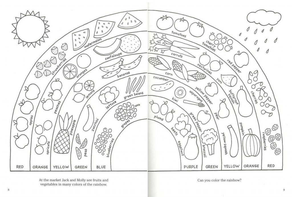 Food Coloring Pages | Food coloring pages, Coloring pages ...