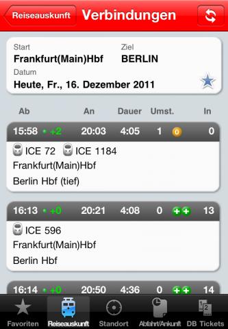 Mit dem DB Navigator erhalten Sie den perfekten Routenplaner für Bahn und ÖPNV. Egal ob ICE, S-Bahn, Bus oder Straßenbahn, Sie haben stets Zugriff auf den aktuellen Fahrplan in ganz Deutschland und Europa mit über 250.000 Haltestellen.