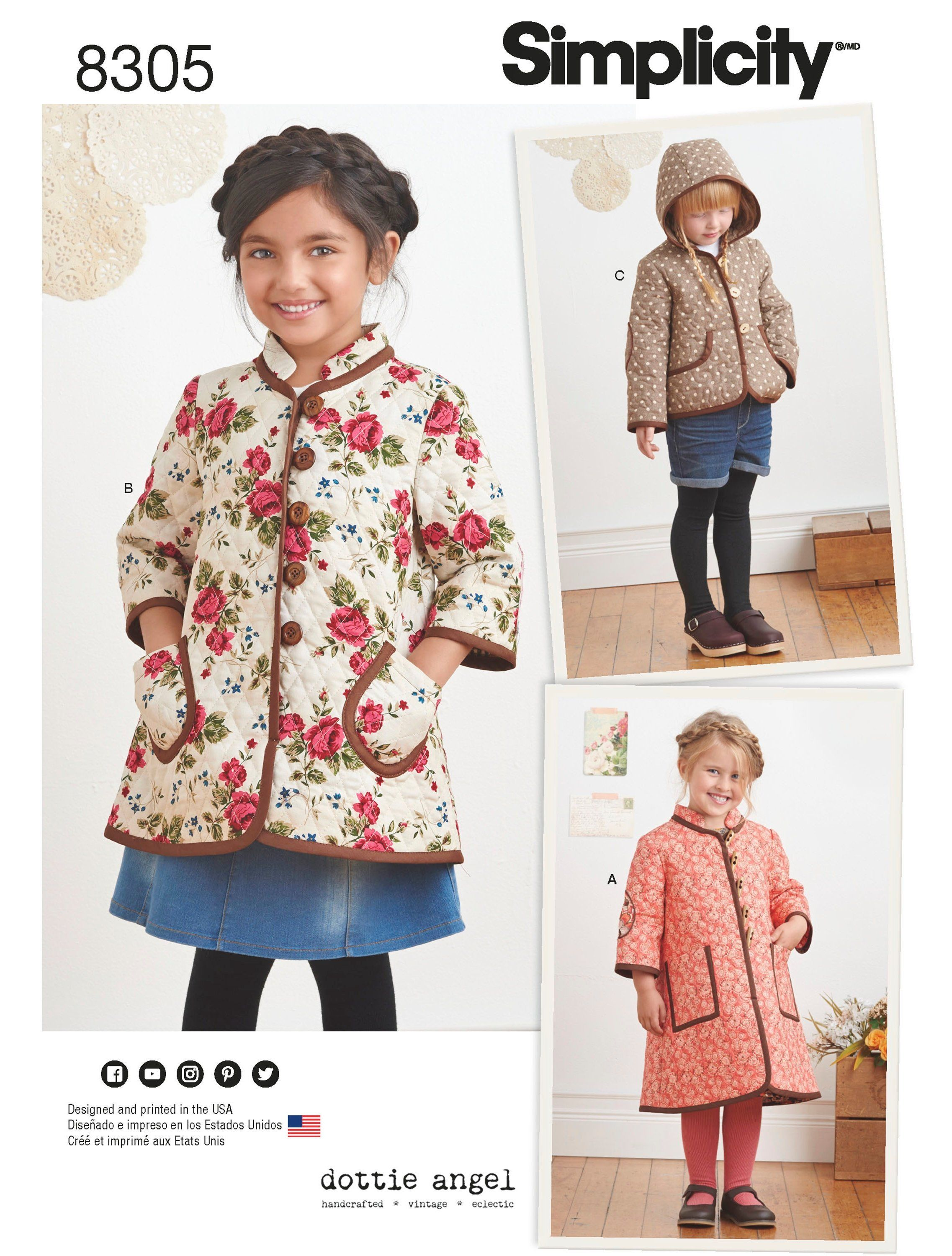 06f5e7649 Child s Pre-quilted Coat Pattern