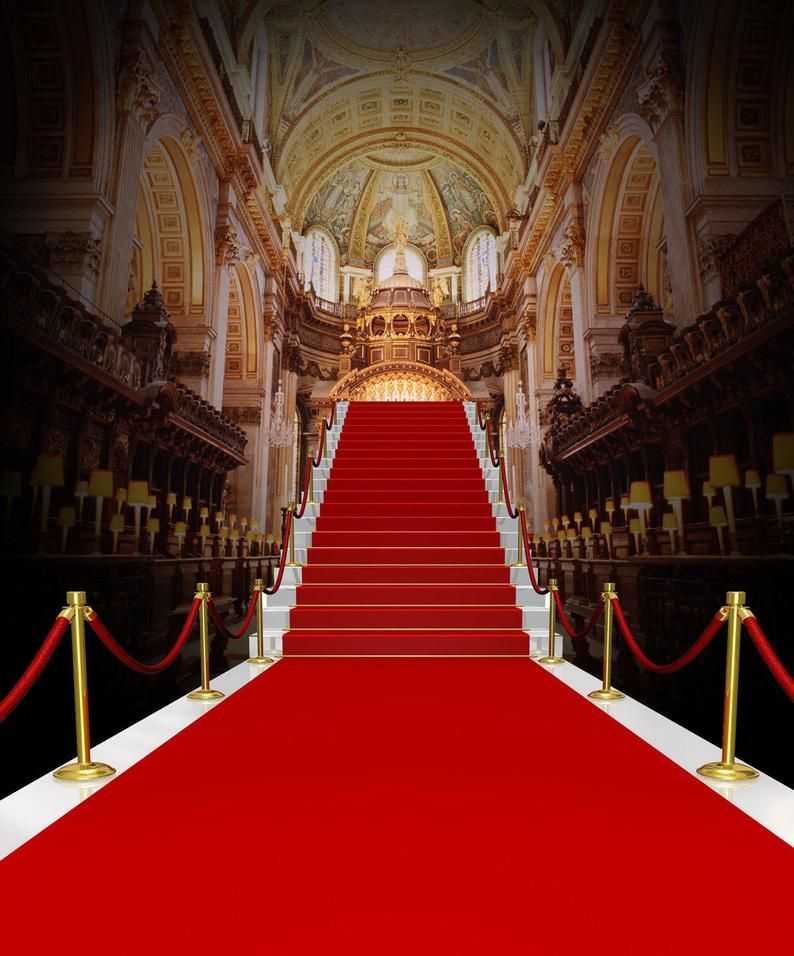 Red Carpet Stairs Photography Backdrops Wedding Cathedral Etsy Photography Backdrops Red Carpet Background Photography Backdrop