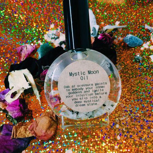 moonstone oil goddess magic