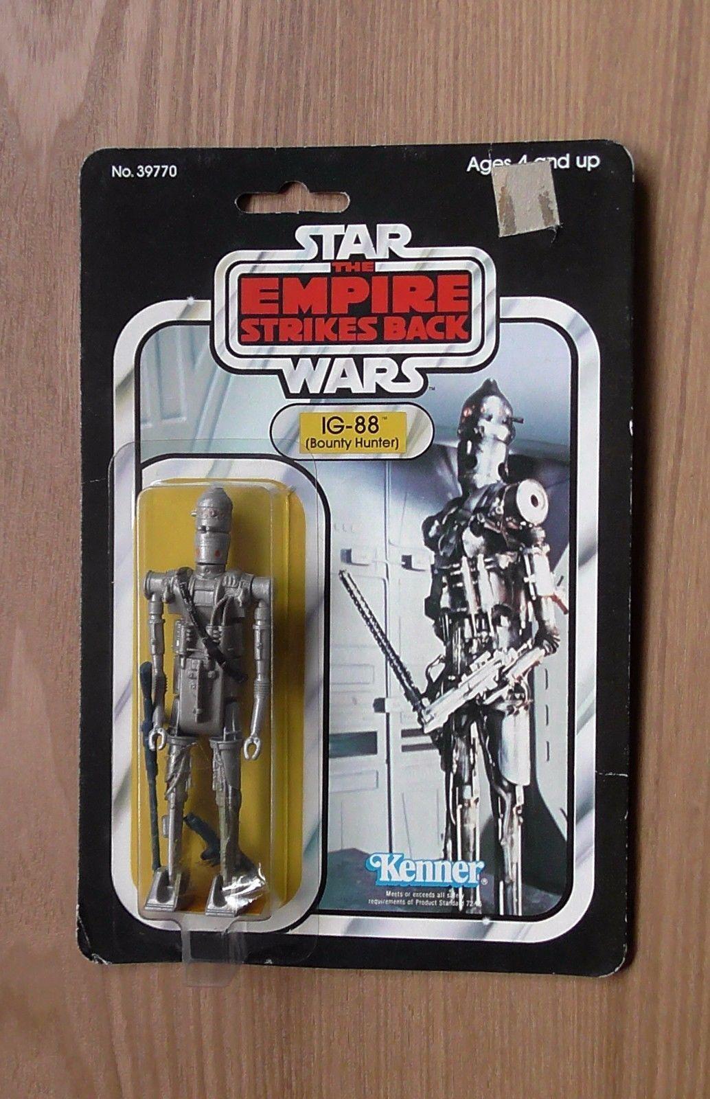 Ben 10 toys images  Vintage Star Wars Figure ESB  IG Bounty Hunter   Back A