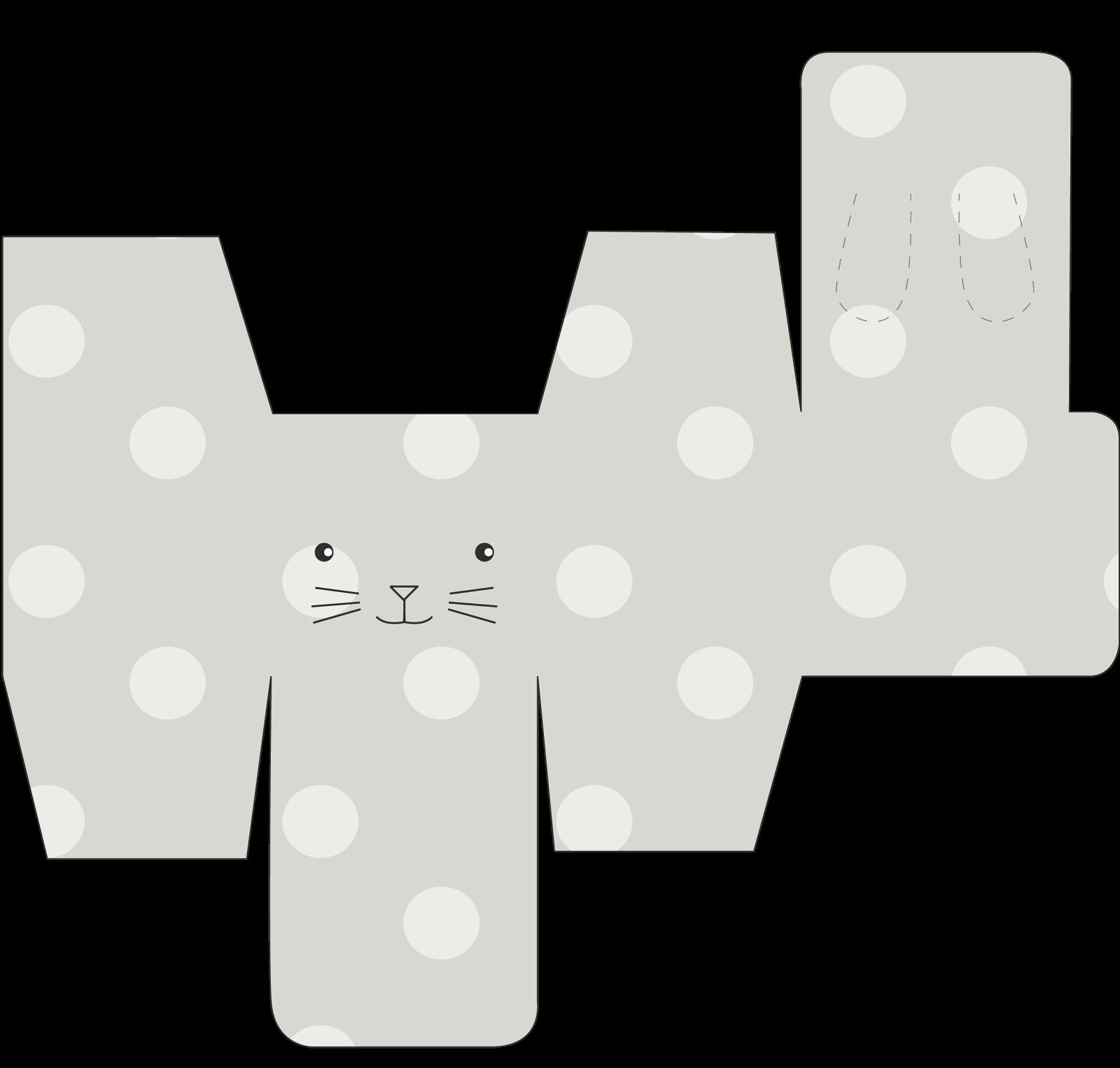 Passatempo da Ana: Caixa Cubo: Coelhinho | Easter Printables 2 ...