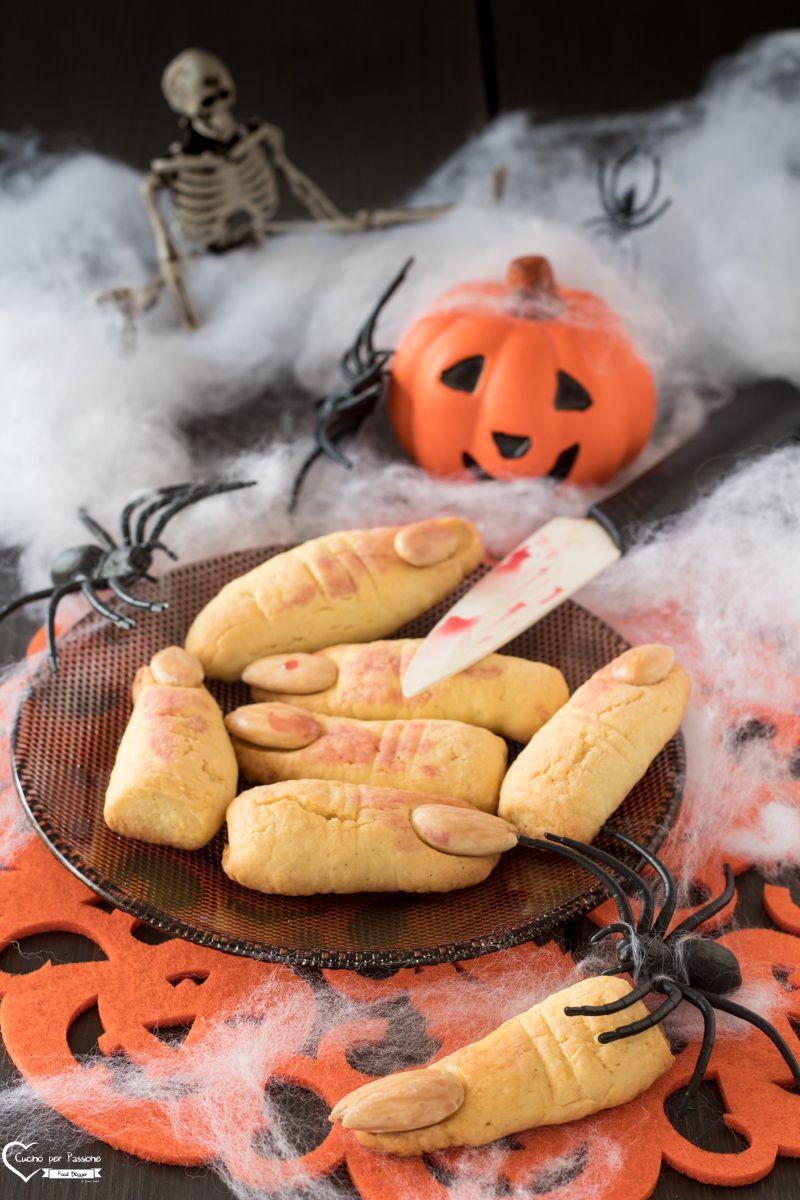 Dita di strega biscotti per Halloween 9a9600616cc0