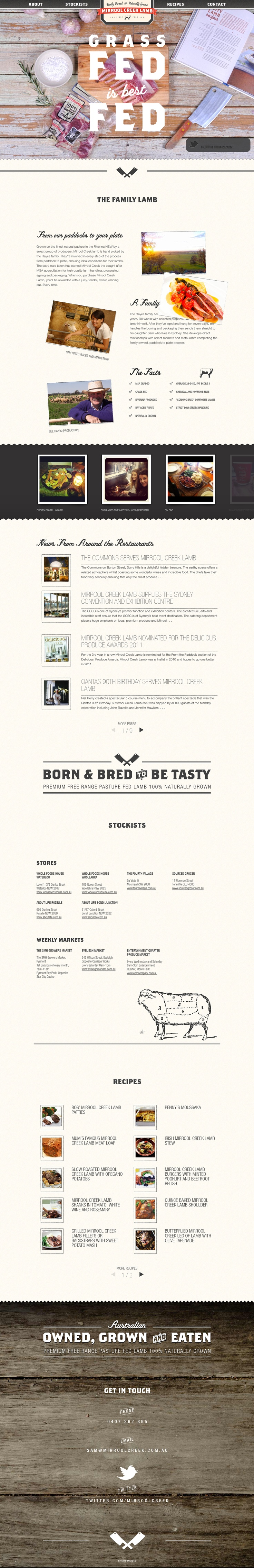 Nice and clean #Web #Design