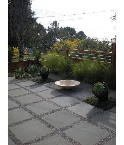 jardin moderno y minimalista