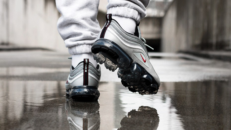factory authentic e03b1 1cadf Nike Air VaporMax 97 Silver Bullet | AJ7291-002 | Sneakers ...