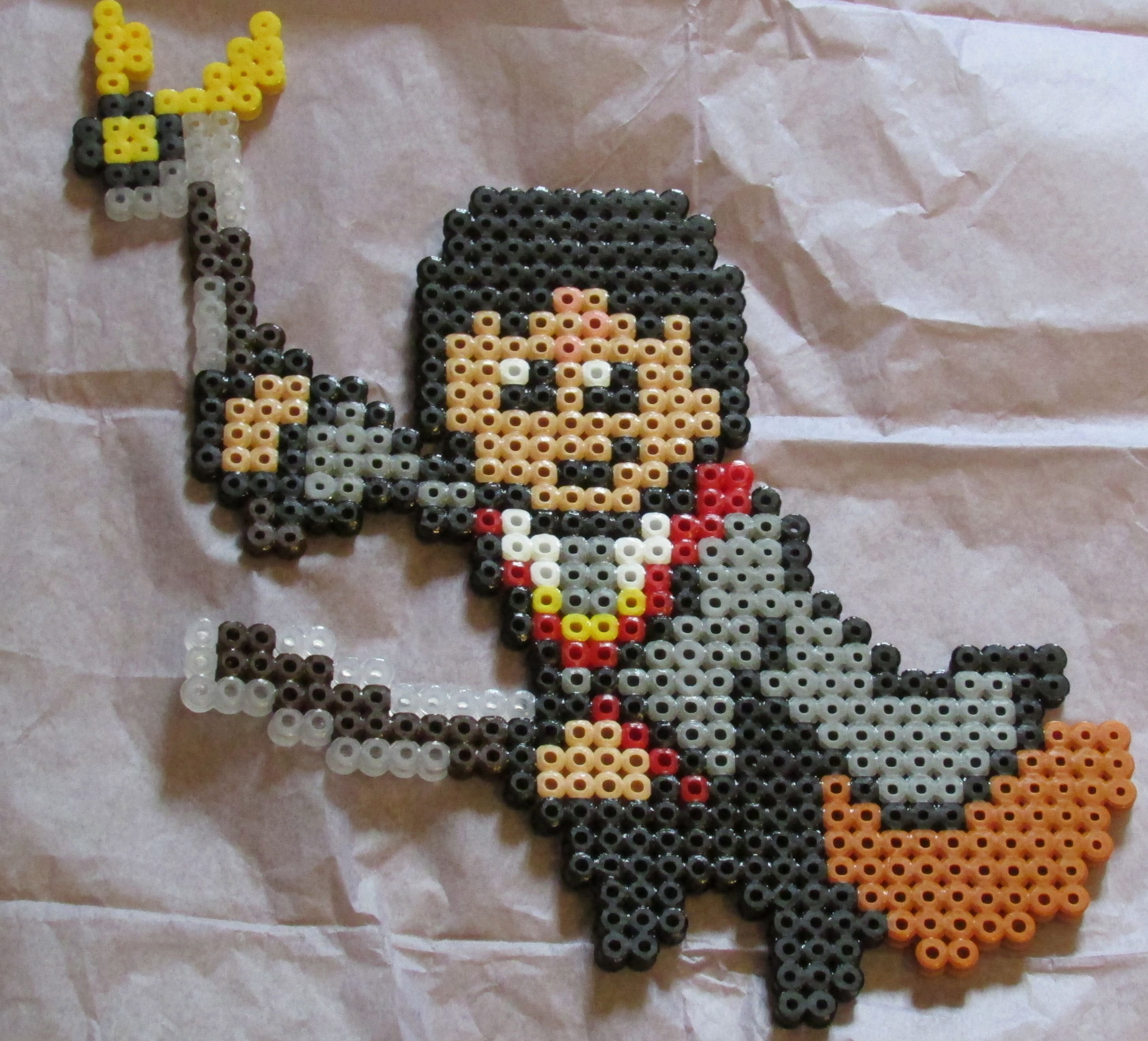Harry Potter Hama Perler Beads By Keely Jade Hama Bead