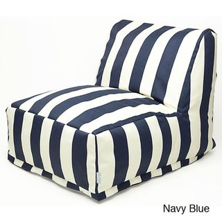 Vertical Strip Bean Bag Chair Lounger Overstock Com