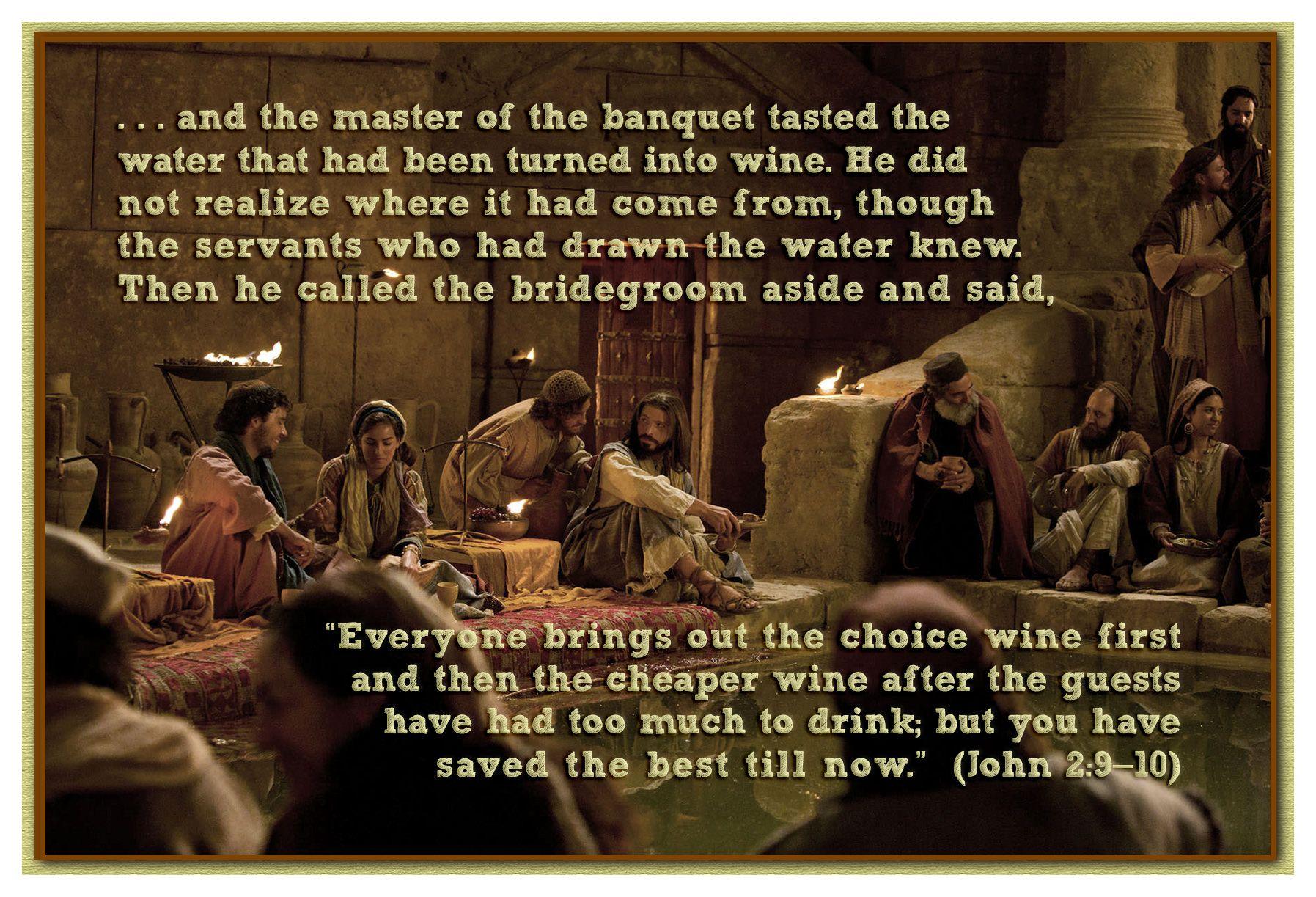 Image result for John 2:9-10