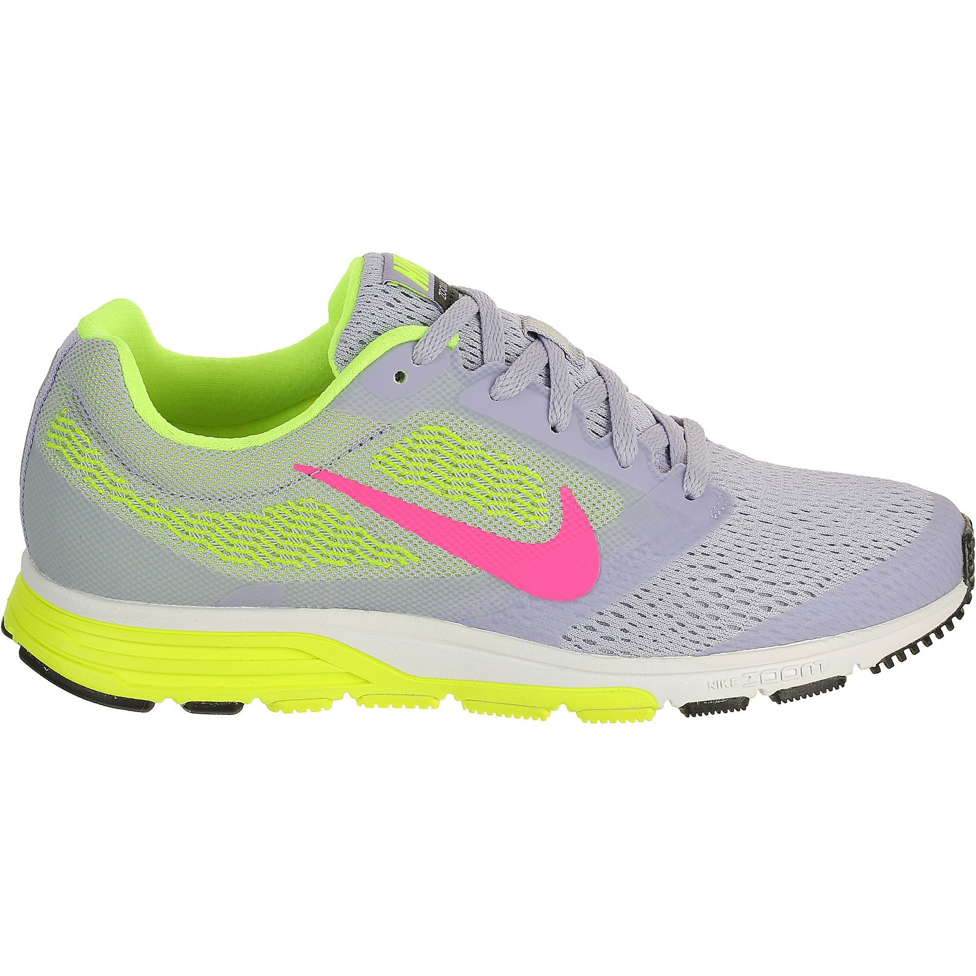 Chaussures de running - NIKE ZOOM FLY GRIS JAUN W PE15 | Chaussure ...