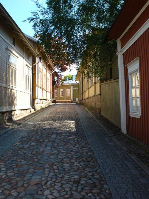 Vanha Rauma, FINLAND.