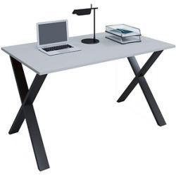 Photo of Vcm my office Lona desk gray rectangular